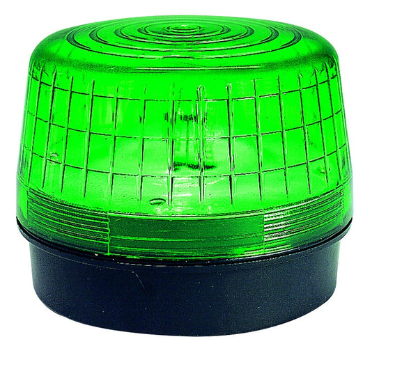 GREEN STROBE BEACON 40/80FPM IP53 24VAC/DC