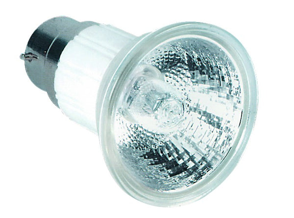50W 230V HALOGEN LAMP BASE B22 /2 per pack