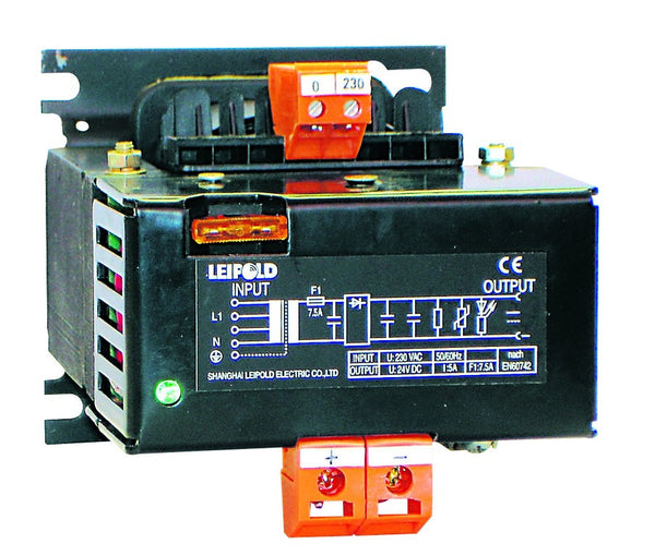 8A 220VAC:24VDC UNREG POWER SUPPLY