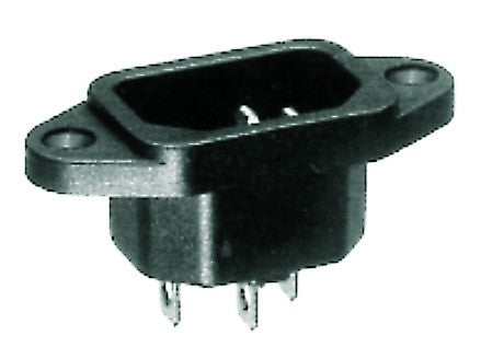 10A FLUSH MALE SOCKET INLET