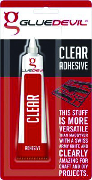 CLEAR GENERAL USE ADHESIVE 50ML BLISTER PACK