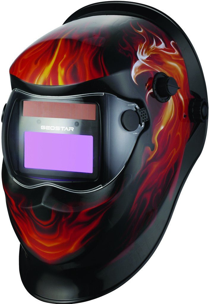 WELDING HELMET SHADE 9-13, MANUAL CONTROL(BATTERY)