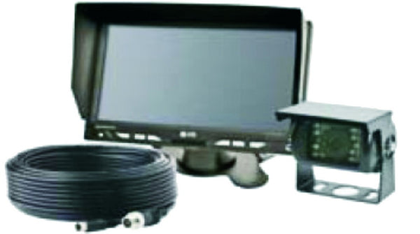 CCTV SAFETY REVERSING KIT C/W 1XCAMERA,1XMONITOR,1XCABLE LOO