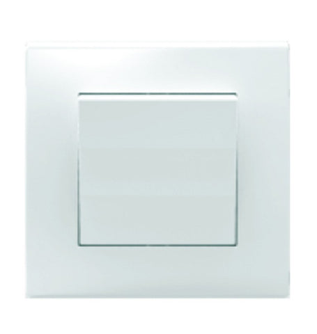 1 LEVER 2 WAY SWITCH 10A WHITE FOR 3X3 BOX