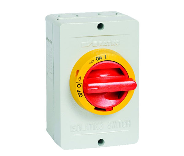 125 AMP 6P ALUMINIUM ENCLOSED ISOLATOR IP66