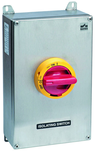 63 AMP 3P S/STEEL ENCLOSED ISOLATOR