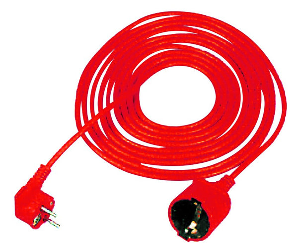 25M SHUCKO EXTENSION CORD RED 10A