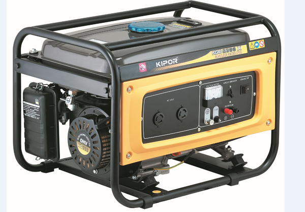 GENERATOR 2KVA 1PH 15L AIR COOLED PETROL
