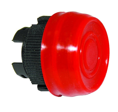 YELLOW FLUSH BOOTED PUSHBUTTON HEAD