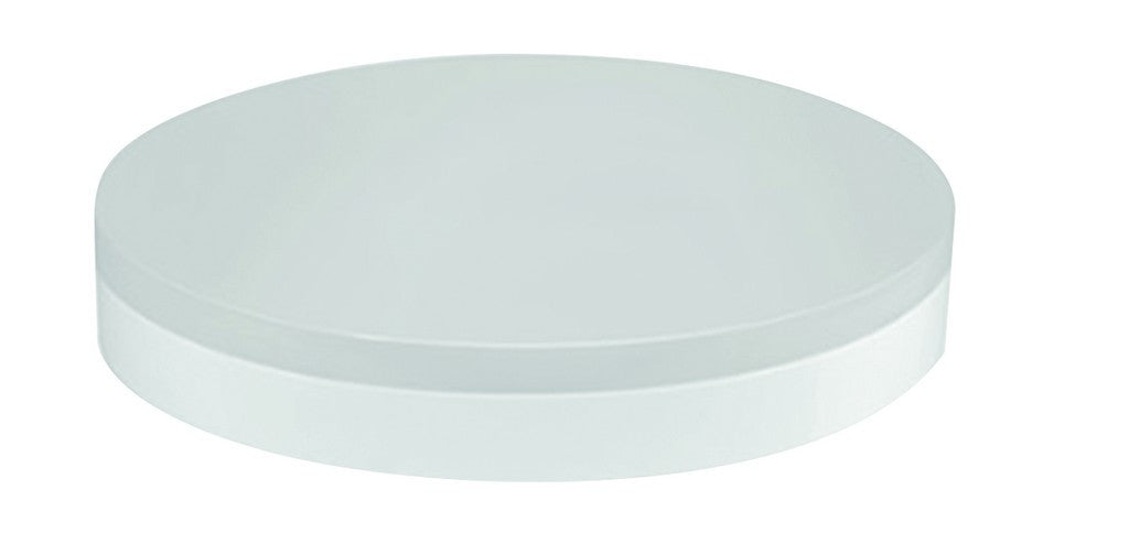 100-240VAC 12W LED CEILING FITTING WARM WHITE 220X220MM IP44