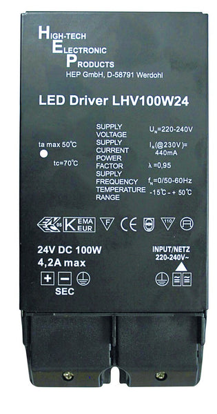 100W 220-240VAC TO 24VDC LED DRIVER