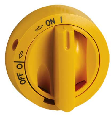 YELLOW HANDLE FOR PV 16-32A