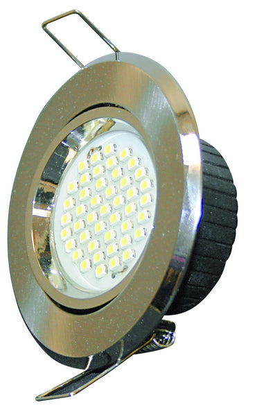 230VAC 3W COOL WHITE LED DOWNLIGHT 46Hx90DIA.