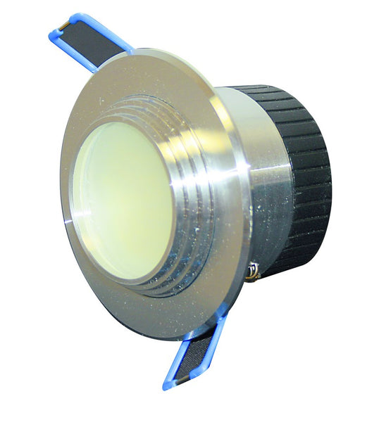230VAC 3W COOL WHITE LED DOWNLIGHT 67Hx90DIA.