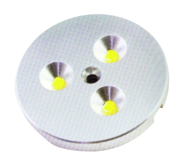 MINI ALUMINIUM WARM WHITE LED DOWNLIGHTER 3W C/W 6W DRIVER