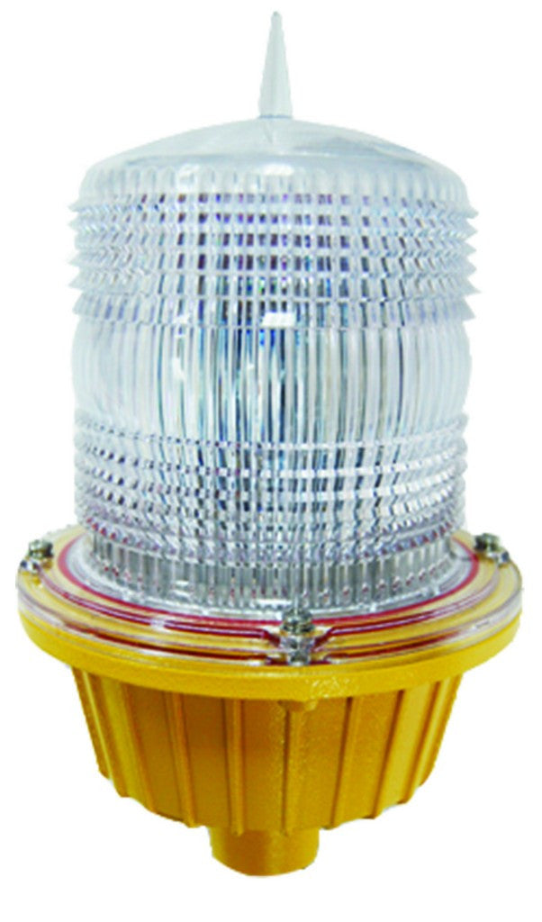 110-240VAC, 6W, OBSTRUCTION LIGHT, FLASH RED, 150Ø X 250MM