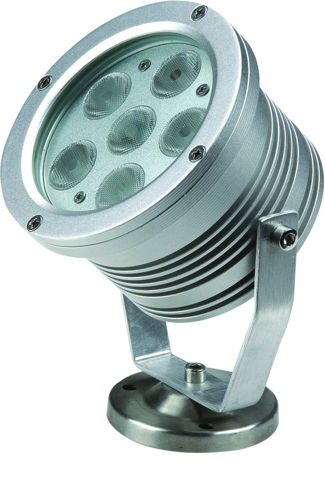 24VDC LED SPOT YELLOW 18W IP65