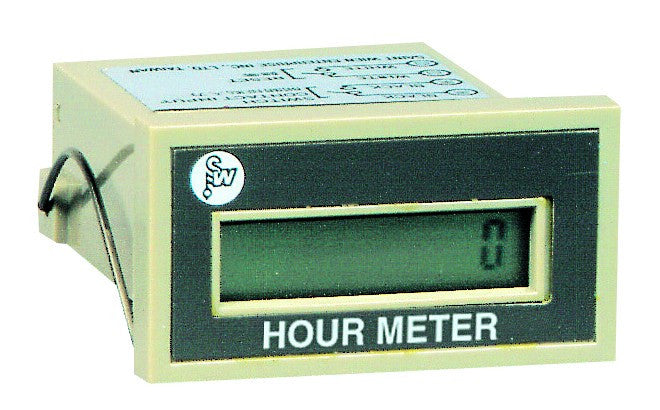 8 DIG LCD RUNNING HOUR METER CONTACT I/P