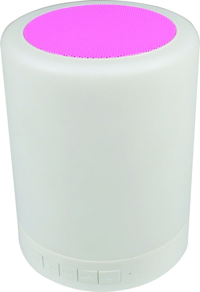 RECHARGEABLE BLUETOOTH SPEAKER C/W LIGHT
