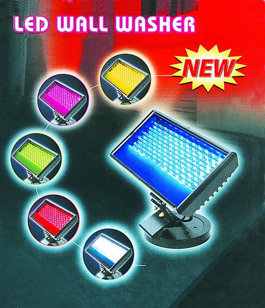 COLOUR R.G,B LED WALL WASH FLOOD LIGHT IP65 25W 90-264VAC