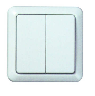 2 LEVER WALL SW LEARNING TYPE TRANSMITTER ON/OFF & DIMMER