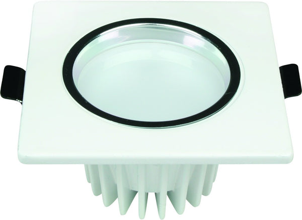 85-265VAC 5W COOL WHITE LED DOWNLIGHT 80MM(DIA CUT OUT)x55MM