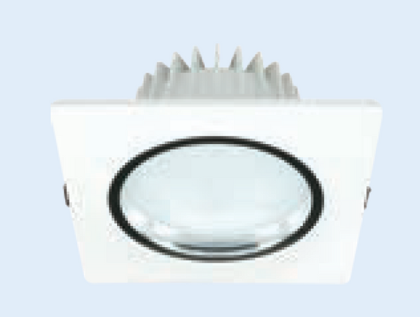 85-265VAC 9W COOL WHITE LED DOWNLIGHT 110MM(DIA CUT OUT)x67M