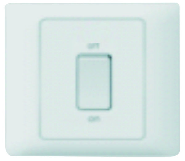 20A 2P 3X3 SWITCH WITH NEON - WHITE