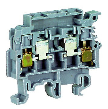 4mm FUSE TERMINAL WITH INDICATION 110-230V