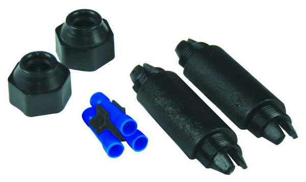 BLACK GEL TYPE JOINT KIT C/W FERRULES FOR 3X 1-2.5MM SQ