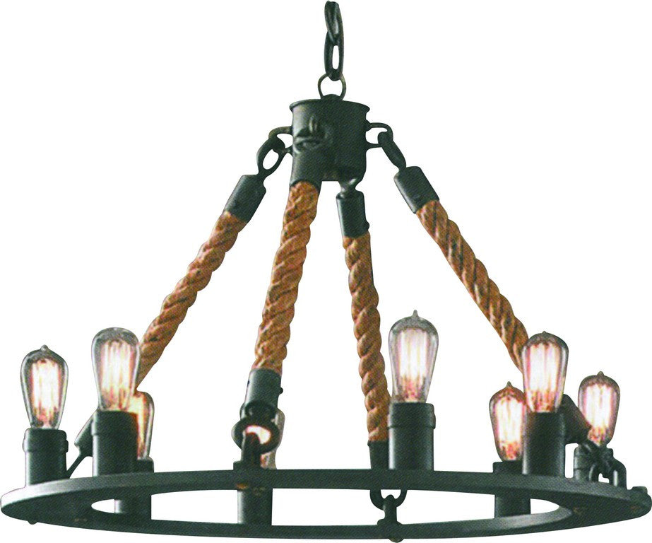 rustic pendant w of beauty objects light bulb filament rope oob products antique