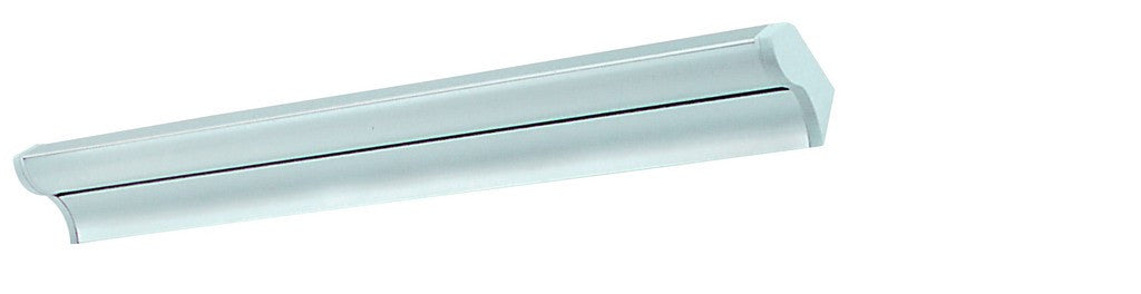 230V ALUMINIUM FLUORESCENT FITTING TILTABLE 8W T5 340x82x45M