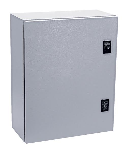 GREY M.STEEL ENCLOSURE 800x600x260 IP65