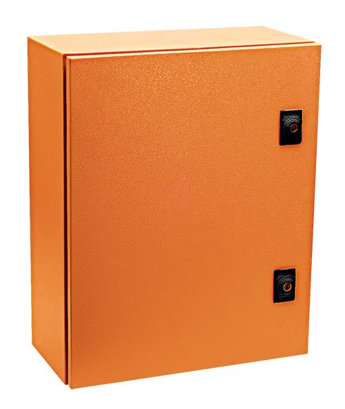 ORANGE M.STEEL ENCLOSURE 800x600x260 IP65