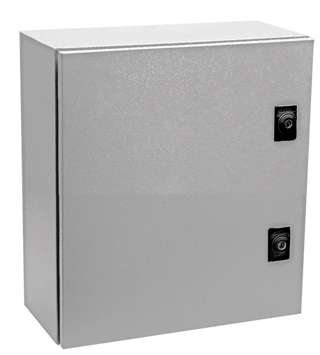 GREY 7032 M.STEEL ENCLOSURE 300x300x200 IP65