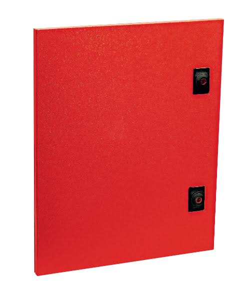 SPARE RED DOOR FOR 300x250 ENCLOSURE
