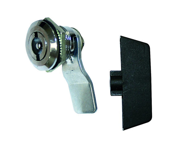 DINLOCK FOR MB ENCLOSURES GREY C/W KEY 20mm MOUNTING