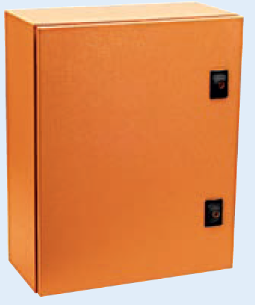 ORANGE M.STEEL ENCLOSURE 600x400x260 IP65