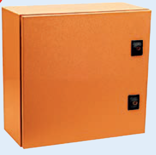 ORANGE M.STEEL ENCLOSURE 250x250x140 IP65