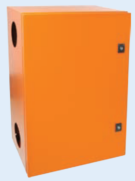 ORANGE M.STEEL ENCLOSURE 1000x600x320 FAN IP65