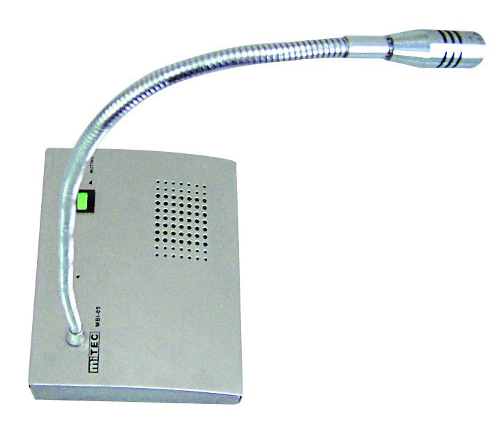 12VDC TELLER CONTROL UNIT C/W HEADSET AND MUTE FUNCTION
