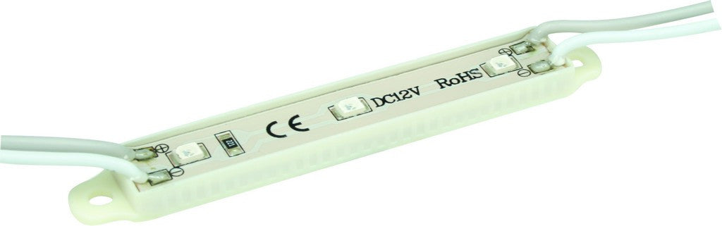 12VDC 3 LED GREEN MODULES - 5M LENGTH / 40 MOD