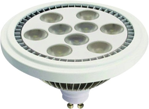 230VAC WARM WHITE  LED LAMP 9W GU10