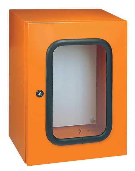 316 PANEL GL.DR IP65 600x500x220 ORANGE RAL 2004