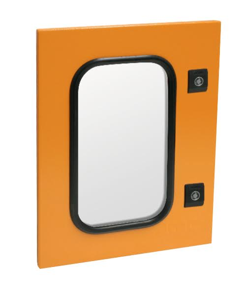 SPARE GLASS DOOR 3CR12 ORANGE ME2