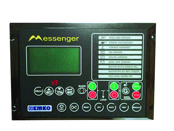 GENSET CONTROLLER MESSENGER WITH GSM