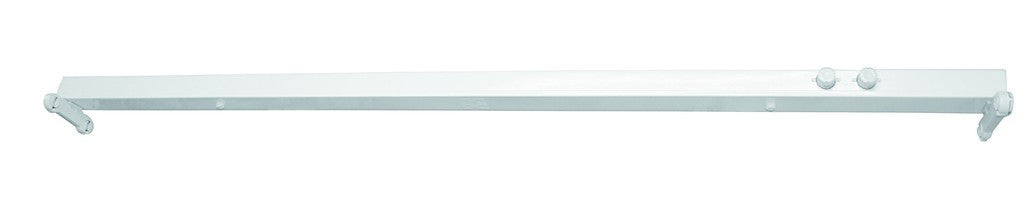 230VAC FLUORESCENT FITTING 2x36W 4FT ELECTRONIC BALLAST.