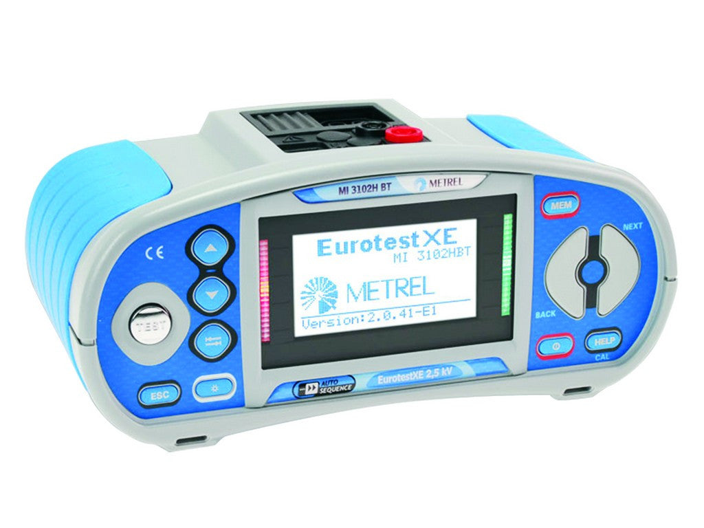 METREL EUROTEST XE 2,5 KV INSTALLATION SAFETY TESTER WITH PQ