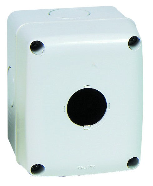 1 WAY PUSHBUTTON ENCLOSURE GREY IP66