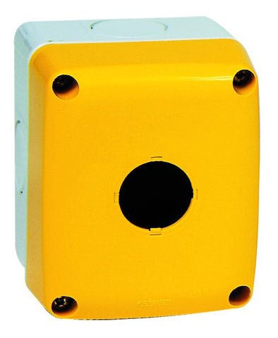 1 WAY PBTN ENCL YELLOW COVER IP66